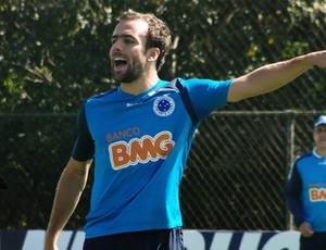 Destaque Arena SporTV - Roger, meia do Cruzeiro (Foto: Lucas Catta Prêta/Globoesporte.com)