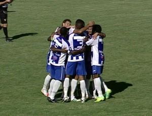 Cruzeiro-RS venceu o Canoas pelo Campeonato Gaúcho (Foto: Reprodução / RBSTV)
