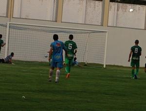 Terceiro gol do CSP contra o Sousa, na 3ª rodada do Paraibano (Foto: Rammom Monte)