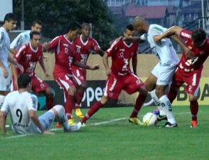 Lance da partida entre Bragantino e Mogi Mirim (Foto: Fábio Moraes / Bragantino)