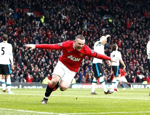 rooney manchester united gol liverpool (Foto: Agência AP)