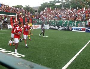 Vasco x América semifinal Carioca showbol (Foto: Flávio Dilascio / SporTV.com)