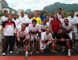 Flamengo futebol de areia (Foto: Site Oficial do Flamengo/Divulgação)