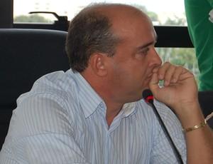Raniere Fonseca, presidente do Flamengo-PB (Foto: Renata Vasconcellos)