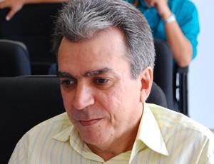 Carlos Lira, Gerente de futebol do Botafogo-PB (Foto: Renata Vasconcellos)