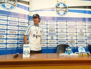 Caio Júnior, técnico do Grêmio (Foto: Tomás Hammes/GLOBOESPORTE.COM)