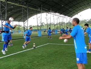 treino do avai (Foto: divulgação site oficial do avai)