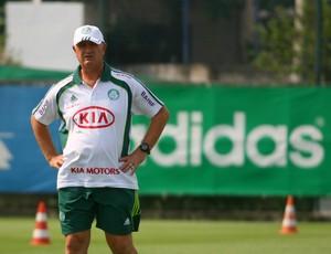 Felipão em treino do Palmeiras (Foto: Anderson Rodrigues / Globoesporte.com)