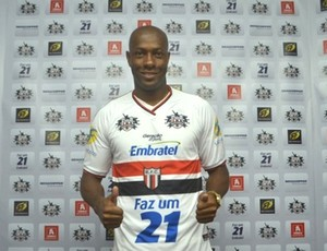 Marco Aurélio, zagueiro do Botafogo-SP (Foto: Rafael Martinez / Botafogo FC)