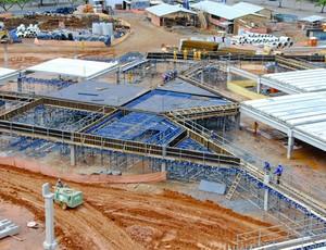 Esplanada do Mineirão em construção  (Foto: Sylvio Coutinho / Divulgação / Secopa)