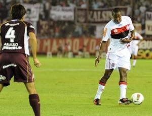 Renato Flamengo x Lanus (Foto: Alexandre Vidal / Fla imagem)