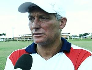 Márcio Bittencourt, técnico do Itumbiara (Foto: Reprodução/TV Anhanguera)