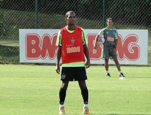 Richarlyson treino Atlético-MG (Foto: Fernando Martins / Globoesporte.com)