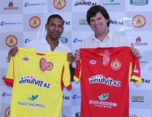 Djalminha e Cebola - Atlético Sorocaba (Foto: Divulgação / Atlético Sorocaba)