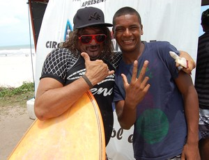 Charles Brawn, surfista das antigas (Foto: Expedito Madruga)