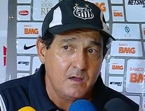 Muricy, técnico do Santos (Foto: Reprodução / SporTV)