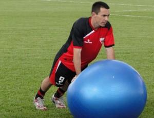 Felipe, atacante do Atlético-GO (Foto: Divulgação/Atletico-GO)