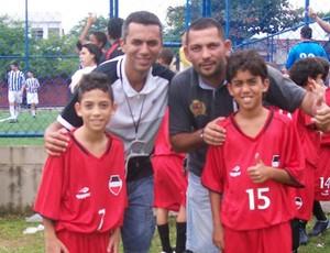 Pedrinho, Showbol (Foto: Divulgação / Arquivo Pessoal)