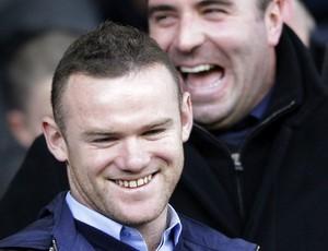 Wayne Rooney Manchester United em Everton x Blackpool (Foto: Reuters)