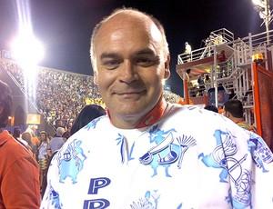 Mauricio Assumpção do Botafogo no Carnaval no Rio de Janeiro (Foto: Thiago Correia / Globoesporte.com)