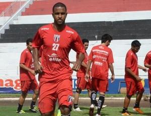 Jogadores treinam no estádio Santa Cruz (Foto: Rafael Martinez / Botafogo FC)