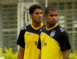 Willian Magrão e Wescley entram no time titular da Ponte (Foto: Reprodução EPTV)