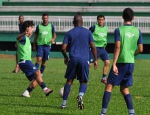 Chapecoense treina para o jogo contra o Atlético Ibirama (Foto: Daniel Cavagnoli - Divulgação ACF)