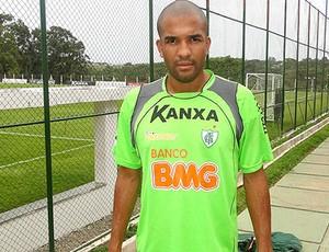 Gabriel é o artilheiro do América-MG no Mineiro (Foto: Leonardo Simonini / Globoesporte.com)