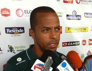 André Neles Uberlândia Esporte Clube (Foto: Hismênia Keller/GLOBOESPORTE.COM)