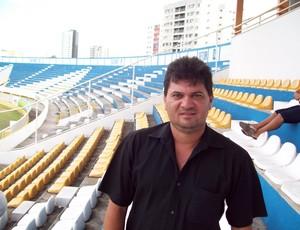 Milton Dantas, vice presidente da FSF (Foto: João Áquila/GLOBOESPORTE.COM)