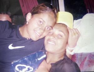 Reencontro Marta Carol Basílio seleção brasileira acidente 3 (Foto: Reprodução SporTV)