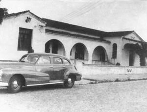 Foto antiga da sede do Maguary (Foto: Arquivo Pessoal/Nirez de Azevedo)