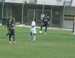 Lance do jogo entre Santo André e São Carlos (Foto: Assessoria São Carlos)