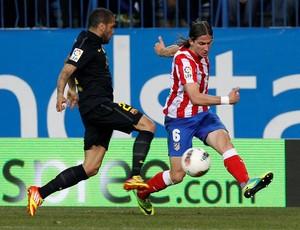 Daniel Alves Atlético de Madrid Barcelona (Foto: Agência Efe)