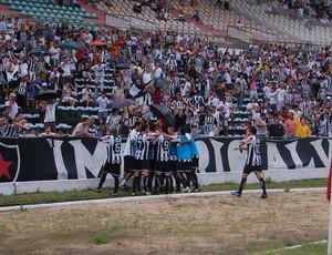 Clássico entre Botafogo-PB e Auto Esporte (Foto: Expedito Madruga)