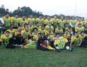 Ajuricaba, time de futebol americao (Foto: Divulgação)