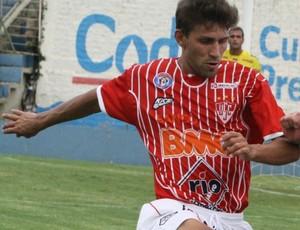 Gabriel Eloi, volante do Uberaba Sport (Foto: Enerson Cleiton / GLOBOESPORTE.COM)