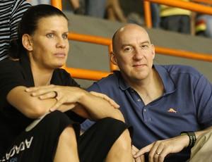 Hugh McCutcheon Técnico da seleção dos EUA  Stacy Sykora (Foto: Alexandre Arruda/CBV)