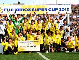 Kashiwa Reysol comemora título no Japão (Foto: Divulgação / Site Oficial)
