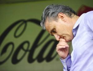 Tite, do Corinthians, contra o Santos (Foto: Marcos Ribolli / Globoesporte.com)