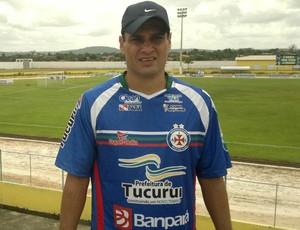Gian, ex-jogador Vasco, atualmente no Independente-PA (Foto: Marcelo Prado / Globoesporte.com)