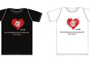 Camisa do Flamengo para promoção de Dia das Mulheres (Foto: divulgação site oficial do flamengo)