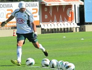 Carlos Pracidelli preparador no treino do Palmeiras (Foto: Daniel Romeu / Globoesporte.com)