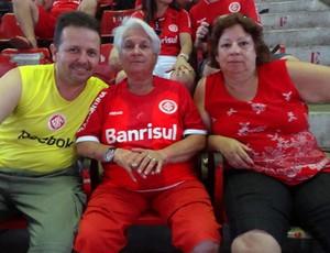 ginásio Gigantinho Inter x Santos Libertadores (Foto: Jessica Mello/Globoesporte.com)