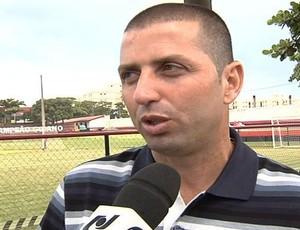 Márcio Melo, empresário de futebol (Foto: Reprodução/TV Anhanguera)