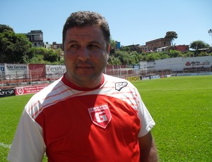 Gian Rodrigues, técnico do Guarani-MG (Foto: Cleber Corrêa)