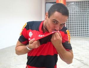 BBB Rafa Flamengo Engenhão (Foto: Richard Souza / Globoesporte.com)
