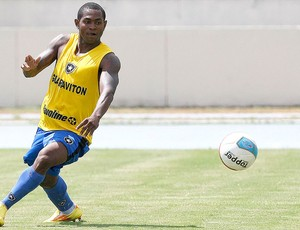 Jobson no treino do Botafogo (Foto: Fabio Castro / Divulgação Agif)