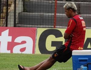 Marcelinho Paraíba, meio-campo do Sport (Foto: Lula Moraes / GloboEsporte.com)