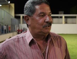 Pedrinho Albuquerque, técnico do Paraíba de Cajazeiras (Foto: Larissa Keren)